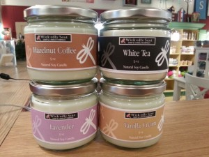 Scented Candles by Wick-edly Sent