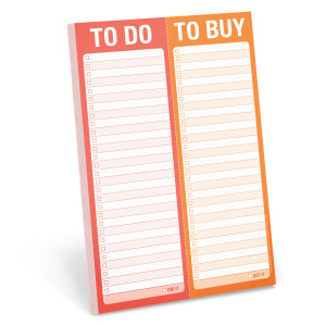 To Do / To Buy Perforated Pad
