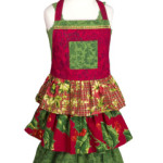 April Cornell Deck the Halls Children's Apron