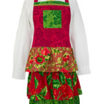 April Cornell Deck the Halls Ladies Apron