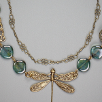 Dragon Fly Dreams Necklace By Grandmother's Buttons