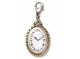 John Wind Roman Clock Charm