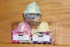 Fizzing Bath Cupcakes