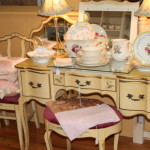 Antique 4 Piece Vanity Set
