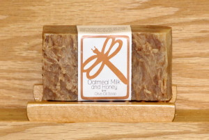 Oatmeal Milk and Honey Olive Oil Soap