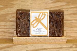 Vanilla Almond Nutmeg Olive Oil Soap