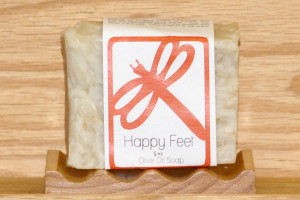 Happy Feet Olive Oil Foot Soap