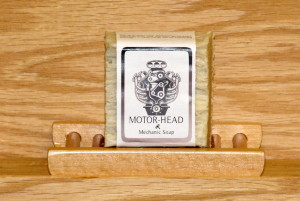 Motor-Head Olive Oil Soap